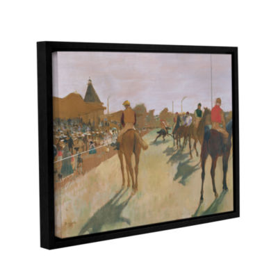 Brushstone The Parade Gallery Wrapped Floater-Framed Canvas Wall Art