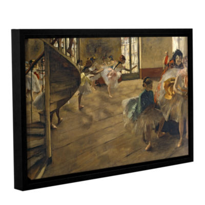 Brushstone The Rehearsal Gallery Wrapped Floater-Framed Canvas Wall Art