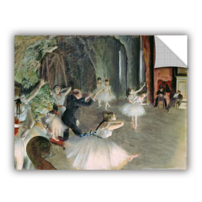 Brushstone The Rehearsal of The Ballet on Stage Removable Wall Decal