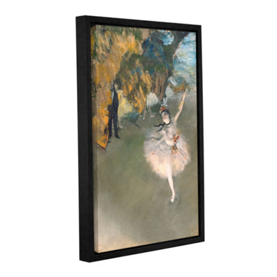Brushstone The Star Gallery Wrapped Floater-FramedCanvas Wall Art