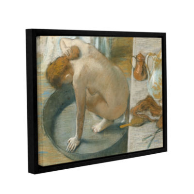 Brushstone The Tub Gallery Wrapped Floater-FramedCanvas Wall Art
