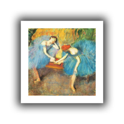 Brushstone Two Dancers at Rest Canvas Wall Art