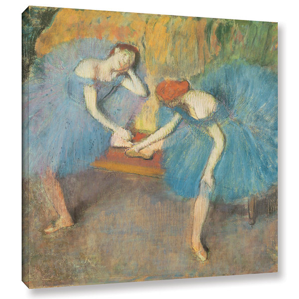 Brushstone Two Dancers at Rest Gallery Wrapped Canvas Wall Art