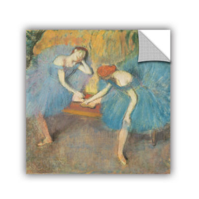 Brushstone Two Dancers at Rest Removable Wall Decal