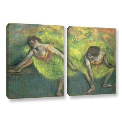Brushstone Two Dancers Relaxing 2-pc. Gallery Wrapped Canvas Wall Art