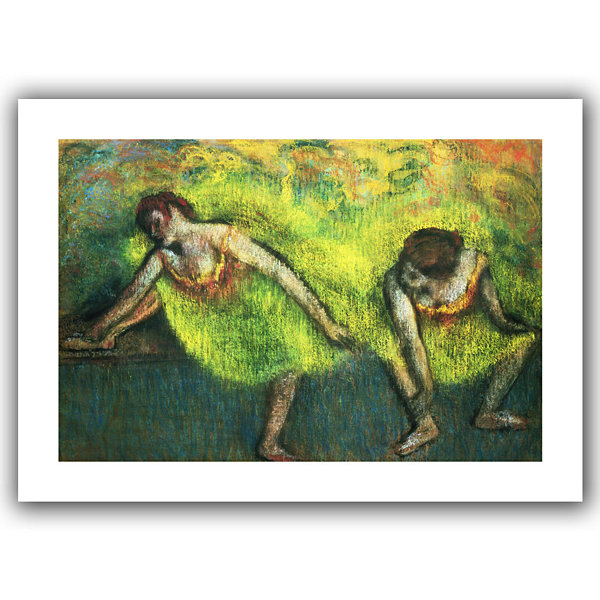 Brushstone Two Dancers Relaxing Canvas Wall Art