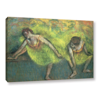 Brushstone Two Dancers Relaxing Gallery Wrapped Canvas Wall Art