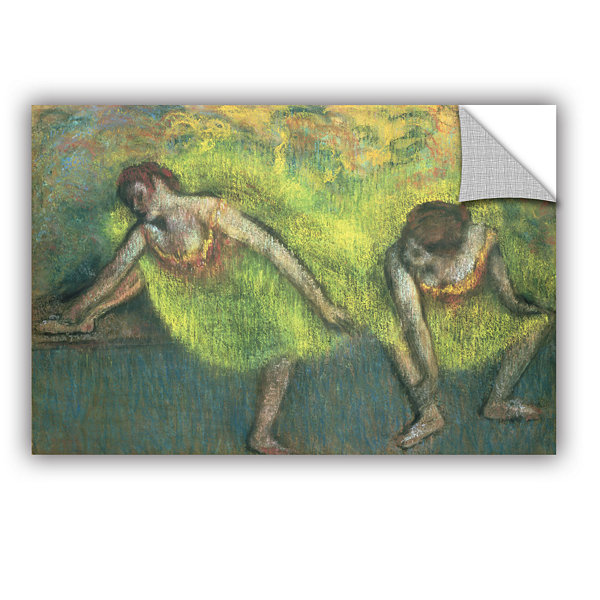 Brushstone Two Dancers Relaxing Removable Wall Decal