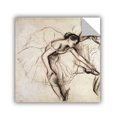 Brushstone Two Dancers Resting Removable Wall Decal