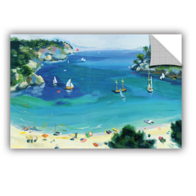 Brushstone Cala Galdana  Minorca Removable Wall Decal