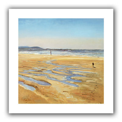 Brushstone Beach Strollers Canvas Wall Art