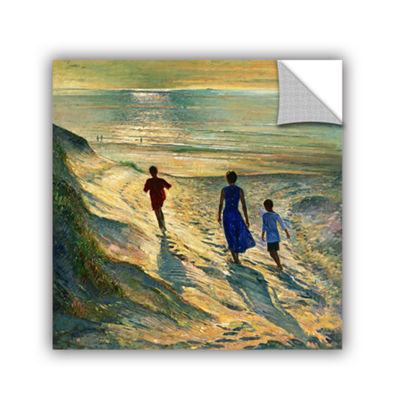 Brushstone Beach Walk Removable Wall Decal