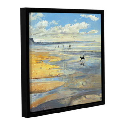 Brushstone The Little Acrobat Gallery Wrapped Floater-Framed Canvas Wall Art