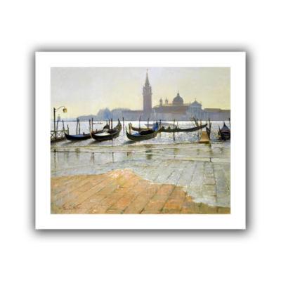 Brushstone Venice at Dawn Canvas Wall Art