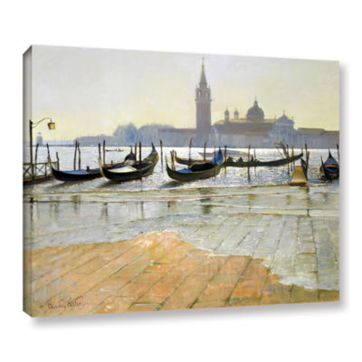 Brushstone Venice at Dawn Gallery Wrapped Canvas Wall Art