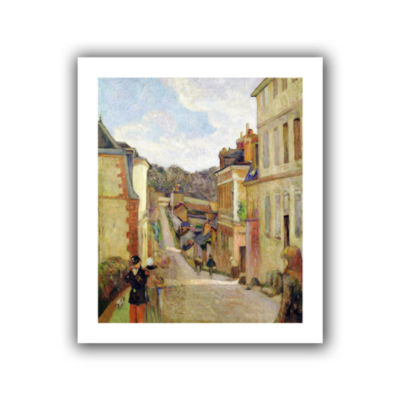 Brushstone A Suburban Street Canvas Wall Art