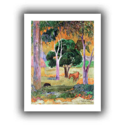 Brushstone Dominican Landscape Canvas Wall Art