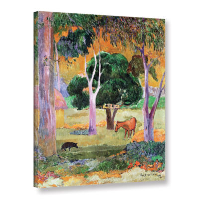 Brushstone Dominican Landscape Gallery Wrapped Canvas Wall Art