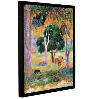 Brushstone Dominican Landscape Gallery Wrapped Floater-Framed Canvas Wall Art