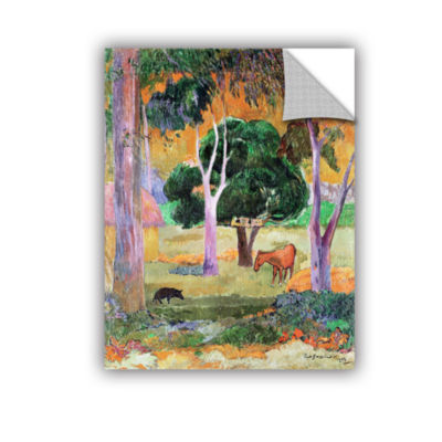 Brushstone Dominican Landscape Removable Wall Decal