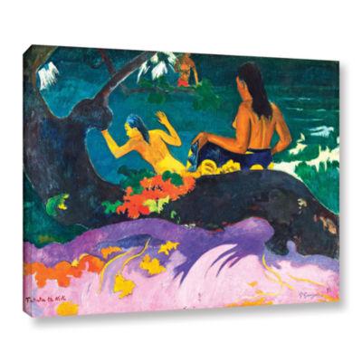 Brushstone Fatata te Miti Gallery Wrapped Canvas Wall Art