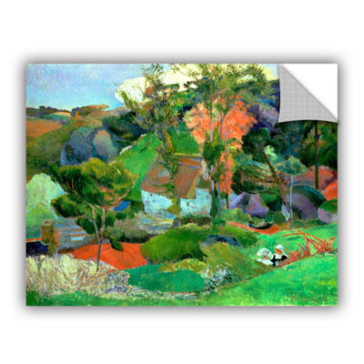 Brushstone Landscape at Pont Aven Removable Wall Decal