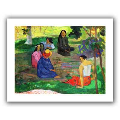 Brushstone Les Parau Parau  The Gossippers CanvasWall Art