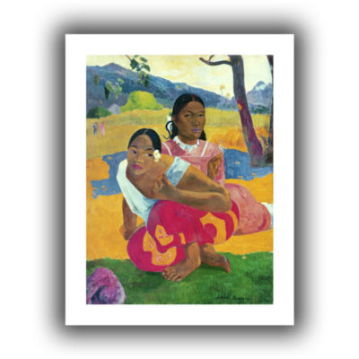 Brushstone Nafea Faaipoipo  When Are You Getting Married? Canvas Wall Art