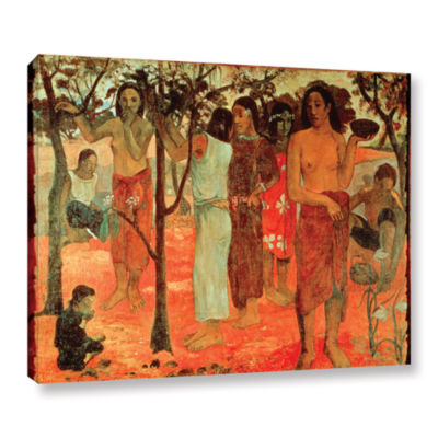 Brushstone Nave Nave Mahana Delightful Days Gallery Wrapped Canvas Wall Art