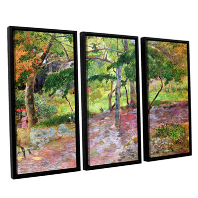 Brushstone Tropical Landscape  Martinique 3-pc. Floater Framed Canvas Wall Art