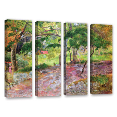Brushstone Tropical Landscape  Martinique 4-pc. Gallery Wrapped Canvas Wall Art