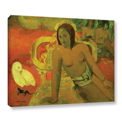 Brushstone Vairumati Gallery Wrapped Canvas Wall Art
