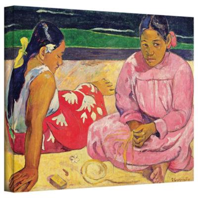 Brushstone Women of Tahiti Gallery Wrapped CanvasWall Art