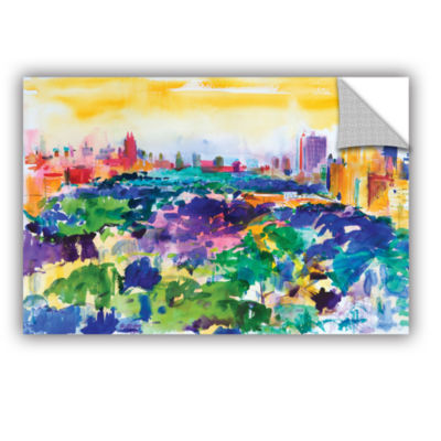 Brushstone Central Park  New York  2011 RemovableWall Decal