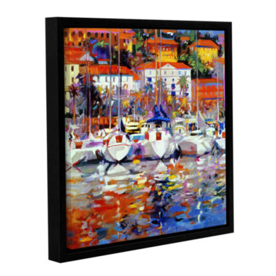 Brushstone Cote du Midi Gallery Wrapped Floater-Framed Canvas Wall Art