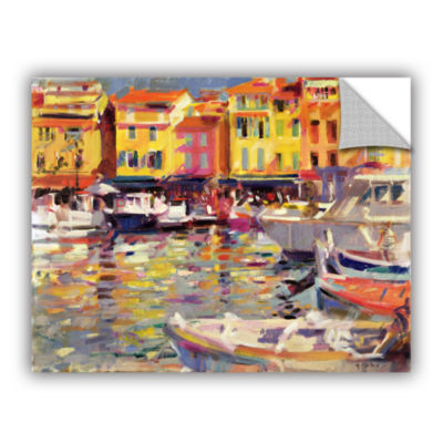 Brushstone Harbour at Cassis Removable Wall Decal
