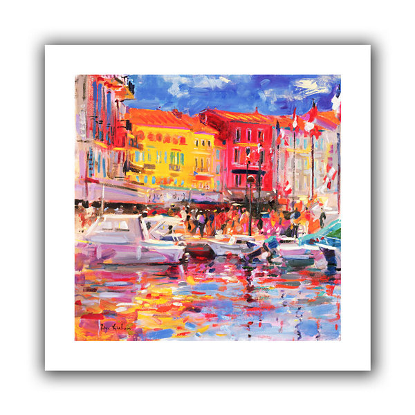 Brushstone Le Port de St Tropez Canvas Wall Art