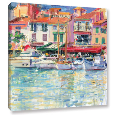 Brushstone Mirabeau Gallery Wrapped Canvas Wall Art