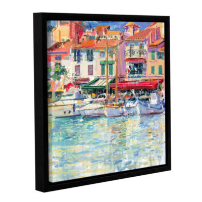 Brushstone Mirabeau Gallery Wrapped Floater-FramedCanvas Wall Art