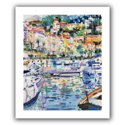 Brushstone Riviera Yachts Canvas Wall Art