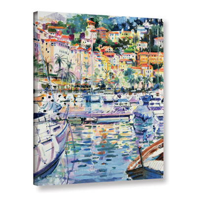 Brushstone Riviera Yachts Gallery Wrapped Canvas Wall Art