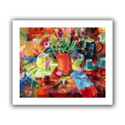 Brushstone Sienna Bouquet Canvas Wall Art