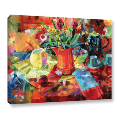 Brushstone Sienna Bouquet Gallery Wrapped Canvas Wall Art