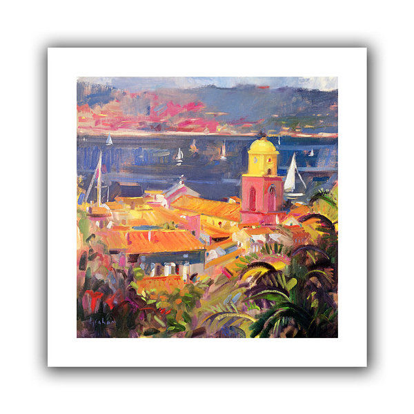Brushstone St. Tropez Sailing Canvas Wall Art