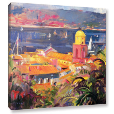 Brushstone St. Tropez Sailing Gallery Wrapped Canvas Wall Art