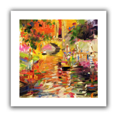 Brushstone Summer Heat Canvas Wall Art