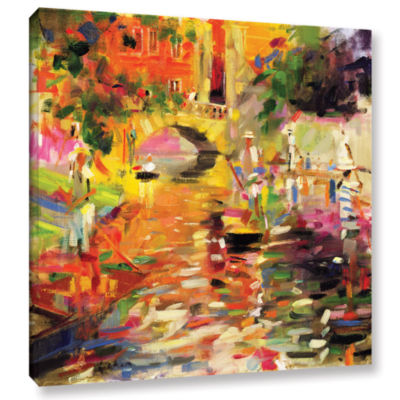 Brushstone Summer Heat Gallery Wrapped Canvas WallArt