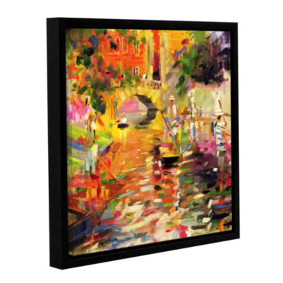 Brushstone Summer Heat Gallery Wrapped Floater-Framed Canvas Wall Art