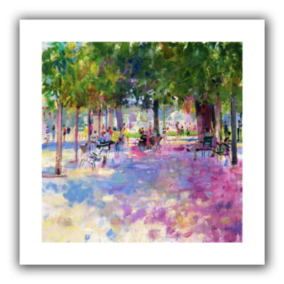 Brushstone Tuileries  Paris Canvas Wall Art
