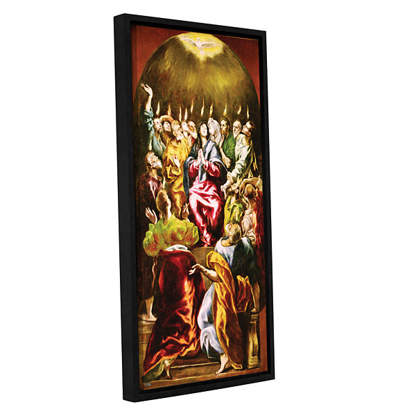 Brushstone The Pentecost Gallery Wrapped Floater-Framed Canvas Wall Art